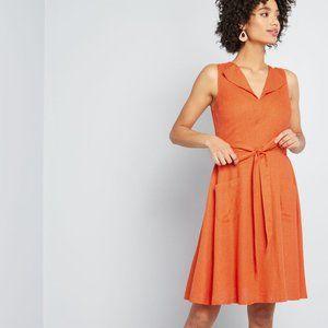 NWT Modcloth Looking Back Sleeveless Dress